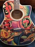 ELECTRIC MAYHEM GUITAR--IN STOCK AND READY!!